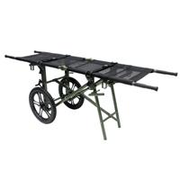 Stretcher Wheel Cart / Wheeled Litter Carrier